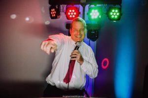 DJ Gary Mills at work