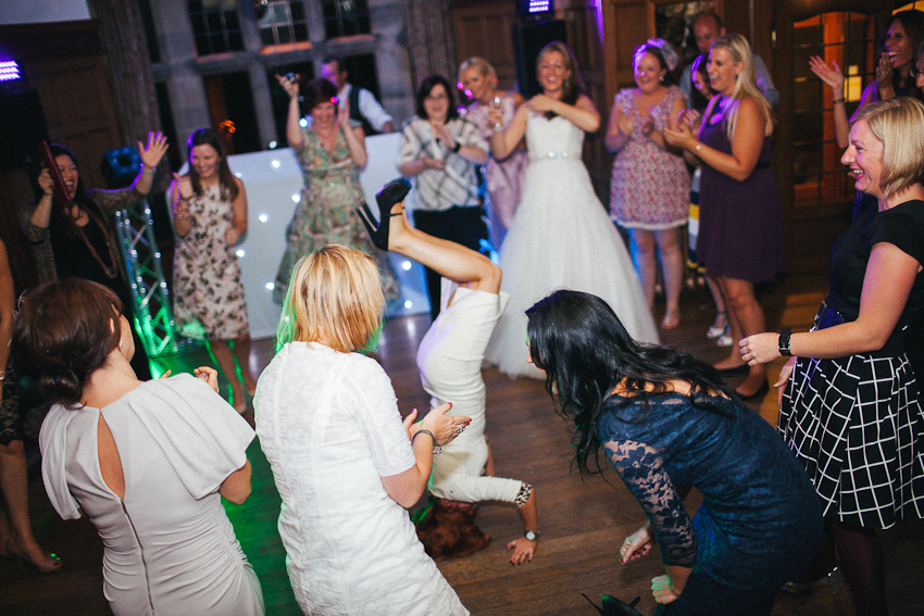 Wedding Fun at The Cragwood Hotel