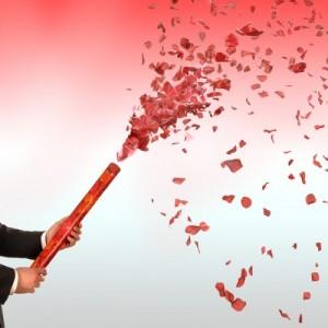 Confetti-Cannons