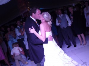 Julia and Bens First Dance