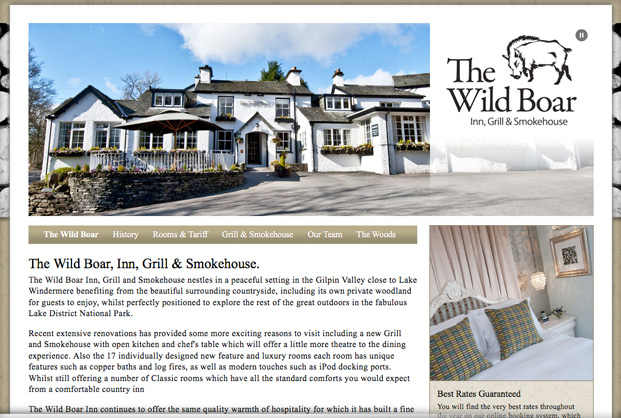 The Wild Boar At Crook