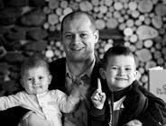 Andy Limm and his children.