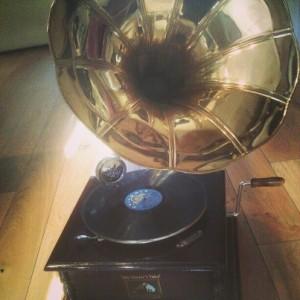 Vintage Gramophone to Hire.