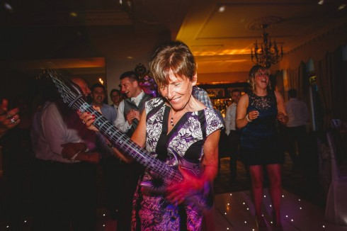 Auntie Rocking Out!