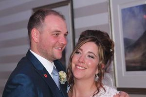 The Bride and Groom Belsfield Hotel.