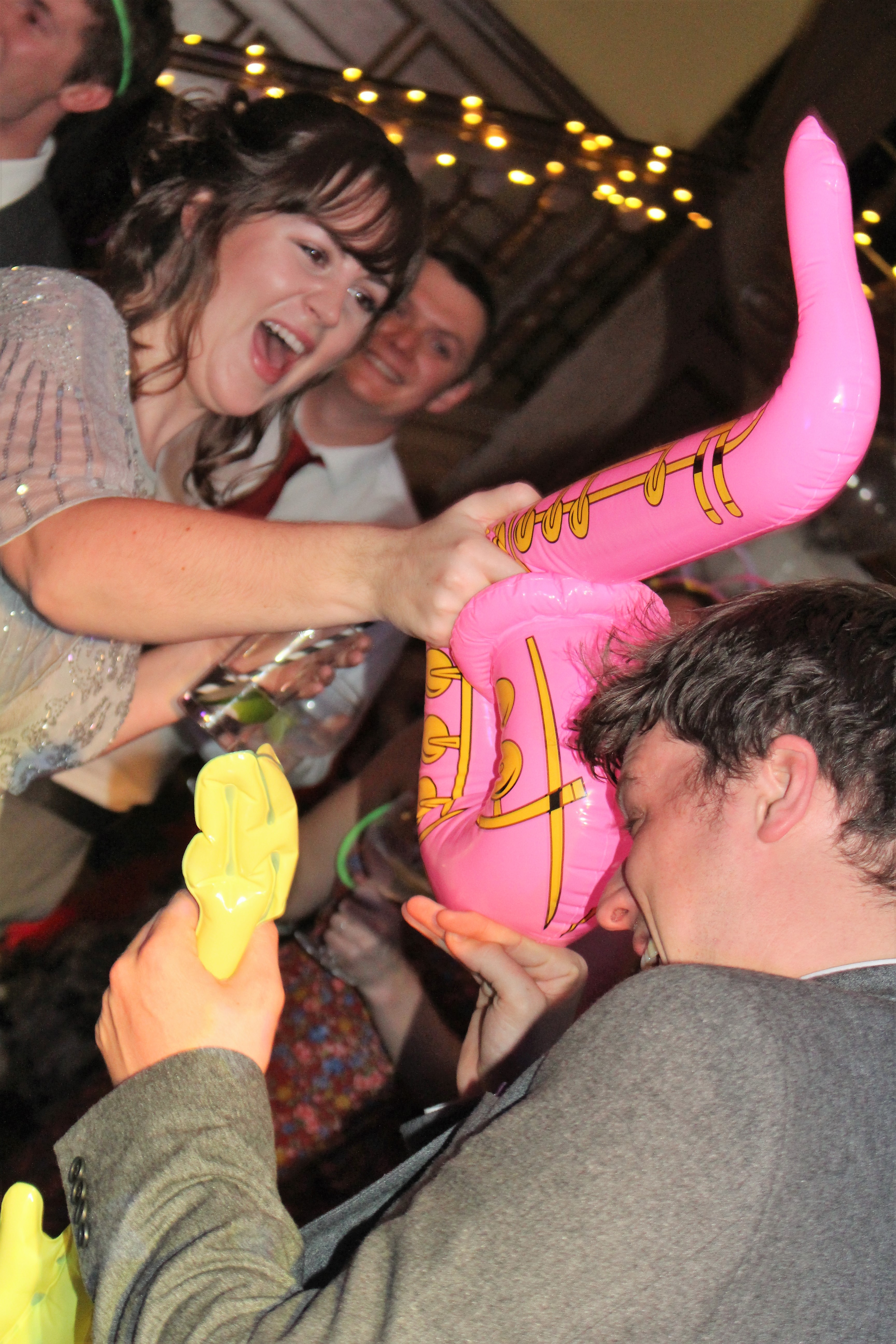Getting Attacked with a Saxophone!