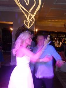 The Bride dancing Gangnam Style!
