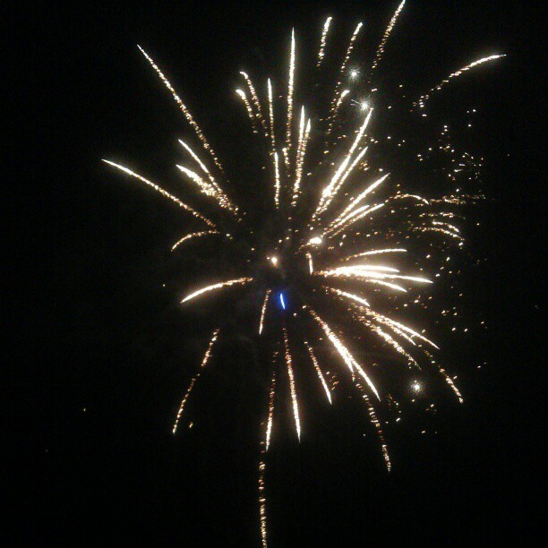 Fireworks at Springfield House