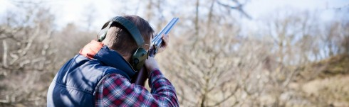 Clay Pigeon Shooting with Michael Coates