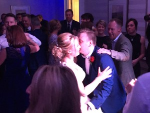 Mr and Mrs Dagger's first dance