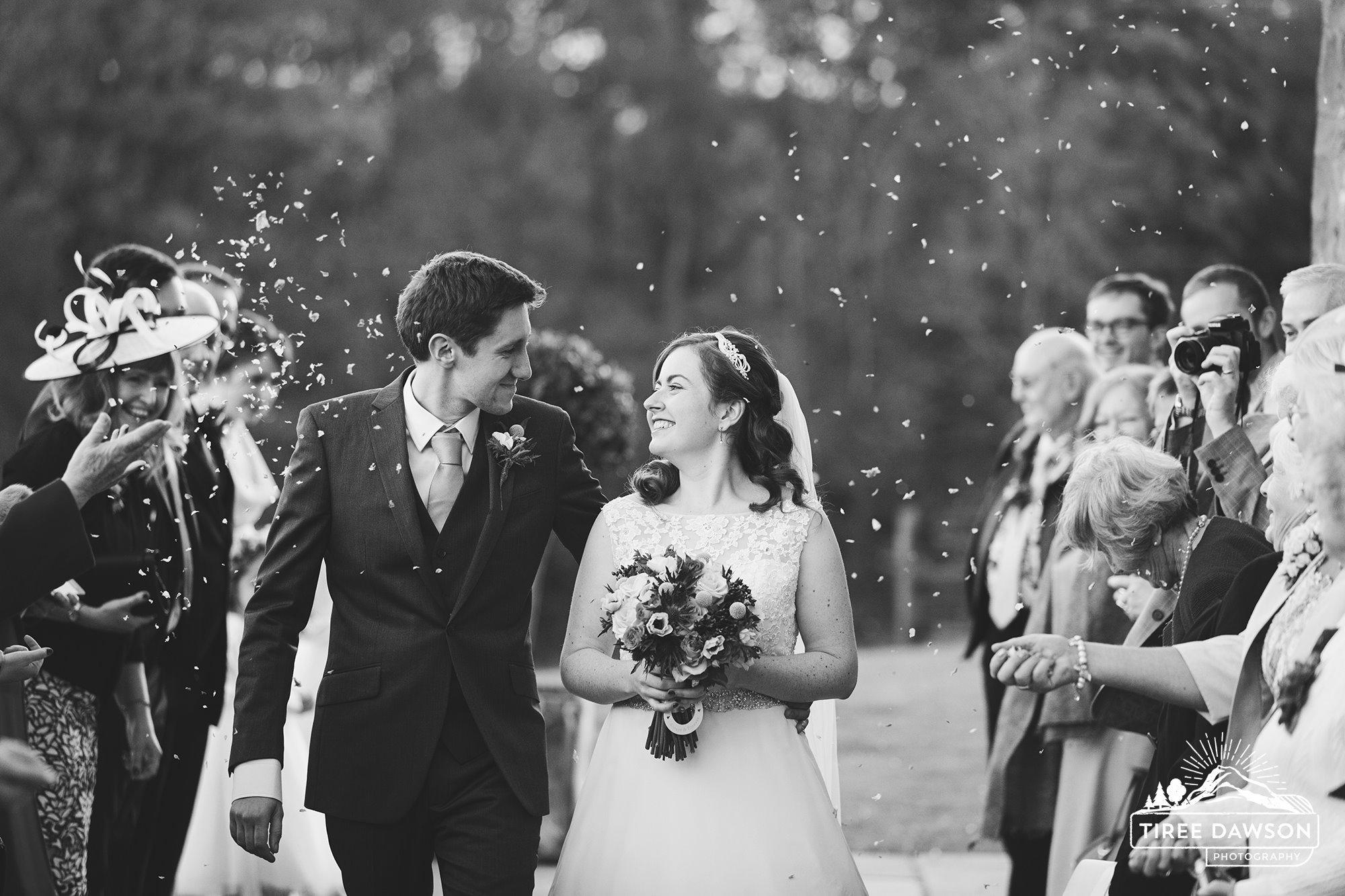 The Happy Bridal Couple.