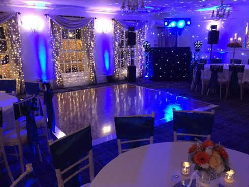 Singleton Lodge Wedding Set Up