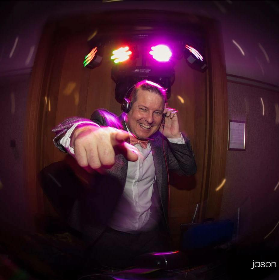 DJ Gary Mills by Jason Chambers.