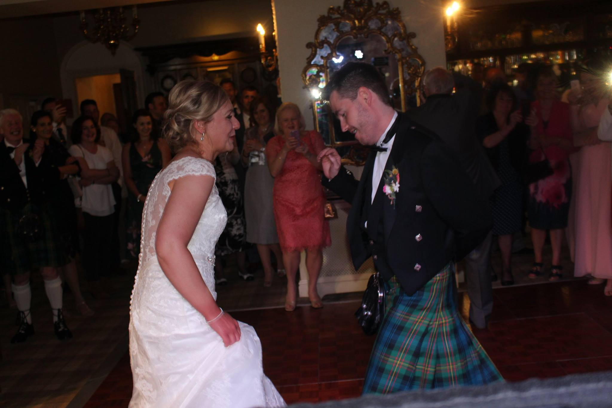 The Bride and Grooms First Dance