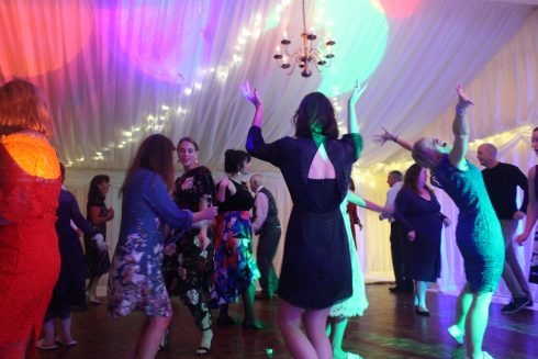 Dance Floor Fun.